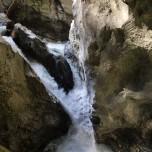 Rauschendes Wasser in der Liechtensteinklamm
