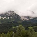Wilder Kaiser in den Wolken