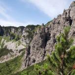 Wilder Kaiser - Steile Felswand