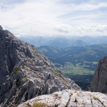 Wilder Kaiser: Blick auf Ellmau