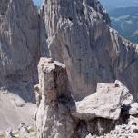 Felsnadel über dem Ellmauer Tor am Wilden Kaiser
