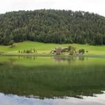 Spiegelung im Hintersteinersee