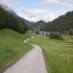 Wanderweg am Hintersteinersee