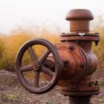 Wasserversorgung auf dem Spargelfeld