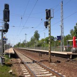 Am Bahnhof Borkheide