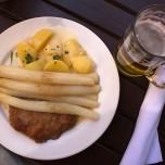 """""""Zur Alten Brauerei"""" in Beelitz - Spargelgericht"""