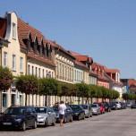 Poststraße in Beelitz
