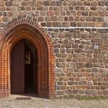Eingang zur Kirche in Beelitz