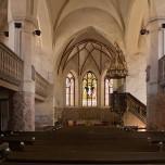 Kirchenschiff der Stadtpfarrkirche in Beelitz