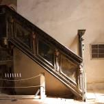 Zur Kanzel in der Stadtpfarrkirche in Beelitz