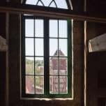 Rausblick aus der Stadtpfarrkirche in Beelitz