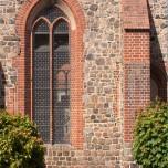 Kirchenfenster der Stadtpfarrkirche in Beelitz