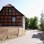 Ausfahrt aus der Spargelstadt Beelitz