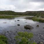 Kleiner Fluss bei Stöng