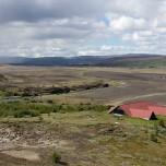 Landschaft bei Stöng