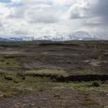 Vulkan Hekla in der Ferne