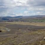Der Fluß Fossá í Þjórsárdal - Fossa i Pjorsardal