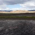 Bunter Berg bei Stöng, Island