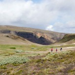 Wanderung in Island