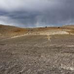 Stimmungsvolle Landschaft in Island