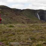 Wasserfall Háifoss