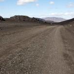 Schotterpiste in Island