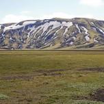 Landschaft unterwegs nach Landmannalaugar