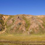 Farbenpracht in Landmannalaugar