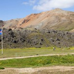 Badestelle in Landmannalaugar
