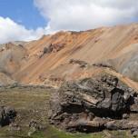 Farbenprächtige Bergwelt Landmannalaugar