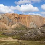 Bunte Berge in Landmannalaugar