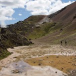 Weg zum Brennenden Berg