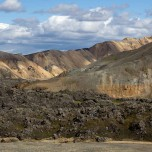 Lavafeld in Landmannalaugar
