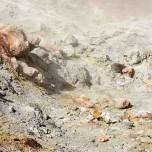 Schwefeldämpfe in Landmannalaugur