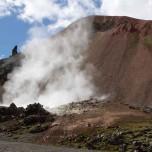 Der Brennende Berg Brennisteinsalda in Landmannalaugur