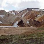 Geröllebene in Landmannalaugar