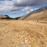Geröllebene bei Landmannalaugar