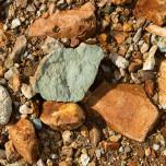 Rote Steine im Gebiet des Torfajökull