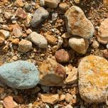 Rote Steine in Landmannalaugar