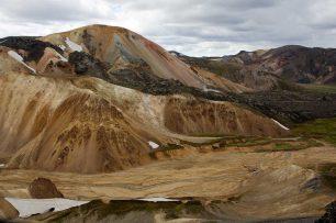 Der Brennende Berg von Landmannalaugar