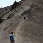 Aufstieg auf den Vulkan Bláhnúkur