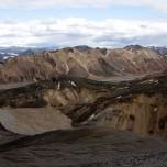 Panorama von Landmannalaugar