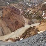 Blick vom Vulkan Bláhnúkur
