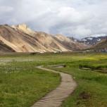 Weg in Landmannalaugar