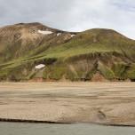 Flußlandschaft bei Landmannalaugar