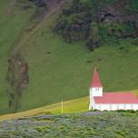 Kirche von Vík í Mýrdal - Vik i Myrdal