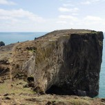 Felsenbrücke auf der Halbinsel Dyrhólaey