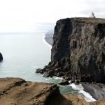 Steilufer der Halbinsel Dyrholaey