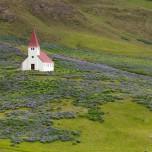 Kirche von Vik i Myrdal