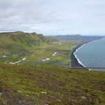 Die Südküste von Island bei Vik i Myrdal